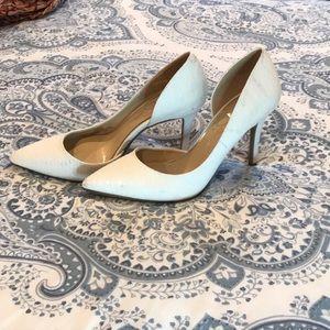 White Jessica Simpson Heels